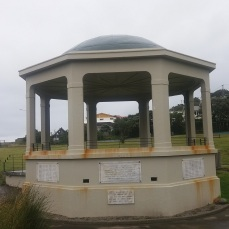 Island Bay Band Rotunda, a war memorial, 1929/30