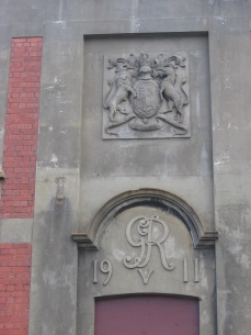 GHQ building (formerly), crest