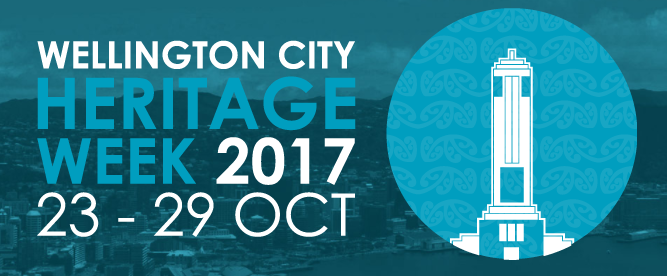 Wellington City Heritage Week logo