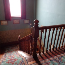 Katherine Mansfield Birthplace stairs