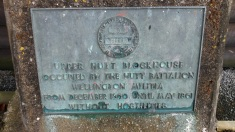 Blockhouse sign