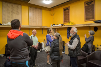 Basin Reserve Tour. Photo Matthew Cleland