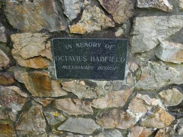 First missionary Octavius Hadfield
