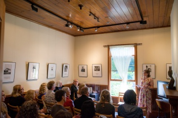 Katherine Mansfield House talk. Photo Credit Iain McFarland