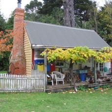 Cottage (former school room) at Emerald Glen, Kapiti coast