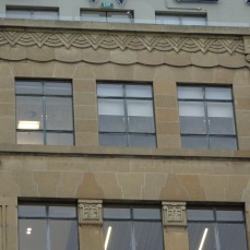 Tower Building, Customhouse Quay, decoration detail