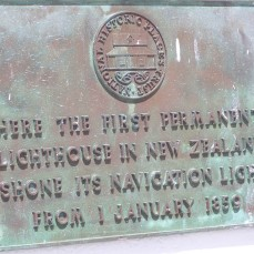 Pencarrow Lighthouse plaque