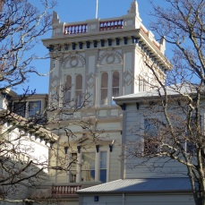 Queen Margaret College Tower, Hobson Street