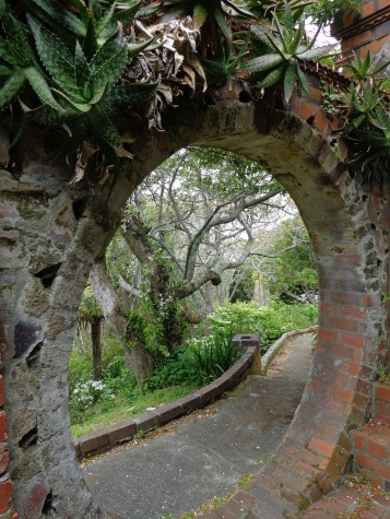 Archway at Truby King house & garden