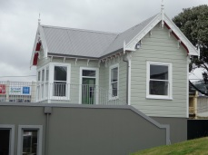 Groundman's cottage at Basin Reserve