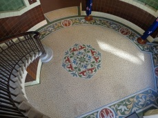 Former Public Trust Building foyer floor