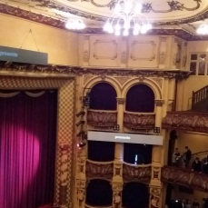 Interior of St James Theatre
