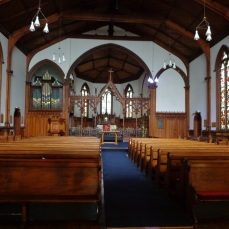 Interior of St Peter's Church Willis St