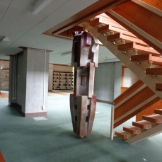 Karori Campus inside the former library.
