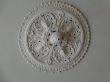 Ceiling rose detail