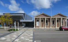 Carterton library old and new