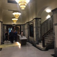 Harcourt's Building foyer