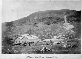 Albion Goldmining Company Battery, 1883