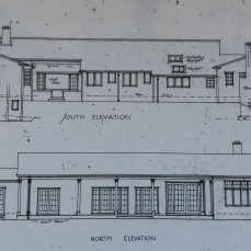 Truby King House, detail of plans. Wm Gray Young architect. 1924.