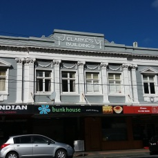 Clark's building, Island Bay shops