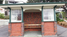 Bus shelter Oriental Bay