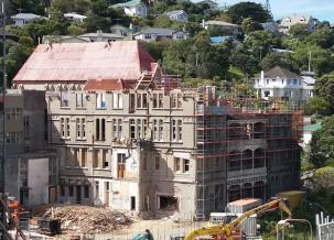 Erskine demolition Oct 2018
