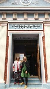 Theosophical Society Hall built 1918