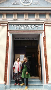 Theosophical Society Hall built 1918