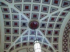 Wellington Railway Station ceiling