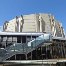Michael Fowler Centre, part of Civic Centre heritage area