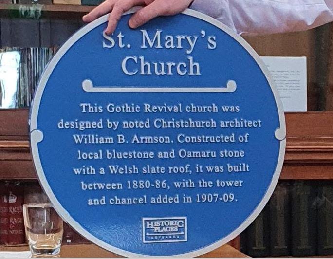 Blue plaque example